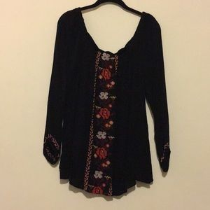 OLD NAVY off the shoulder peasant top